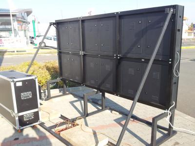 Mobil installáció P12 4,38m2