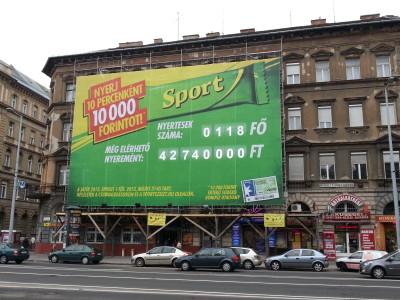 Nyugati téri plakát 2 P12 20m2