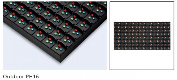 P16 DIP Led panel